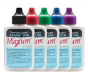 Inks that are for all Ideal-Cosco-Trodat-Daters-Stamp Pads and Shiny Self Inking Stamps