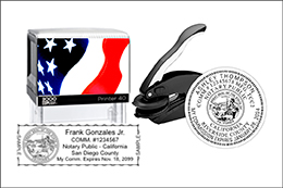 Notary Stamps & Embossers