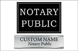 Notary Signage