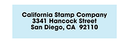 Small Address Stamps up to 2