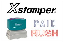 Xstamper Stock Stamps