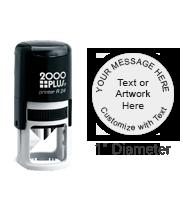 PTR24R - COSCO Printer R 24 Round Stamp