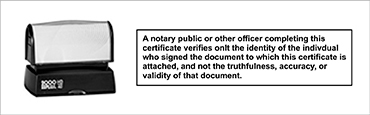 NCDISC - Notary Consumer Disclosure Pre-Inked