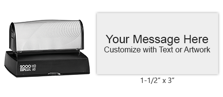 HD60 - 2000 Plus HD-60 Pre-Inked Stamp