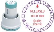 """N78-000 - XpeDater Rotary<br>Date & Time Stamp<br>1-3/16"""" Diameter"""