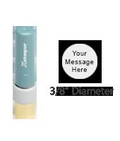 """N30 - Pre-Inked<br>Stamp<br>3/8"""" Diameter"""
