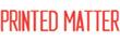 PRINTED MATTER 1104 - PRINTED MATTER PTR 40