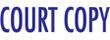 COURT COPY 1337 - COURT COPY PTR 40 BLUE
