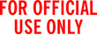 FOR OFFICIAL USE ONLY 1597 - FOR OFFICIAL USE ONLY 1597 RED